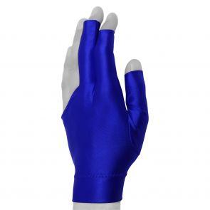 Бильярдная перчатка Classic Short синяя купить в интернет-магазине БильярдМастер Украина