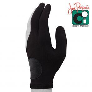 Бильярдная перчатка Joe Porper's черная с кожаной вставкой купить в интернет-магазине БильярдМастер Украина
