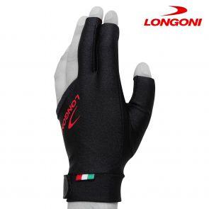 Бильярдная перчатка Longoni Black Fire купить в интернет-магазине БильярдМастер Украина