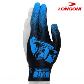 Бильярдная перчатка Renzline Player синяя купить в интернет-магазине БильярдМастер Украина