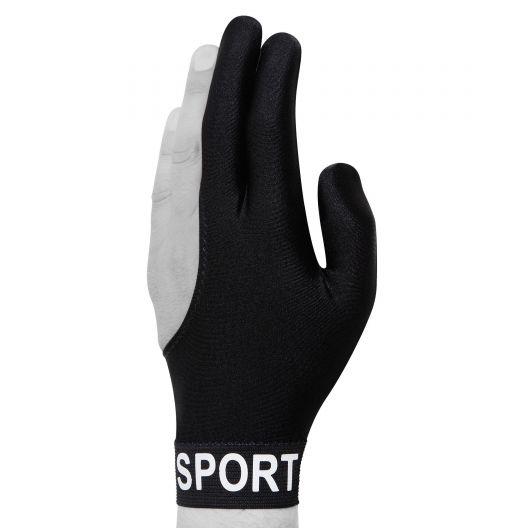 Бильярдная перчатка Skiba Sport черная купить в интернет-магазине БильярдМастер Украина