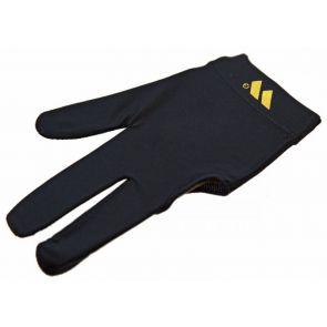 Бильярдная перчатка WB черная с защитой от скольжения купить в интернет-магазине БильярдМастер Украина