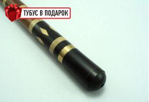 Эксклюзивный бильярдный кий ручной работы Люкс эбен+удлинитель купить в интернет-магазине БильярдМастер Украина