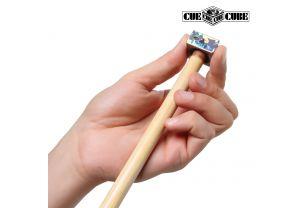 Брелок с шейпером для наклейки Cue Cube Silver купить в интернет-магазине БильярдМастер Украина
