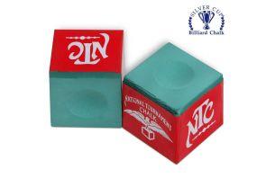 Бильярдный мел NTC зеленый купить в интернет-магазине БильярдМастер Украина