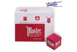 Бильярдный мел Master красный купить в интернет-магазине БильярдМастер Украина
