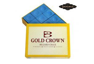 Бильярдный мел Gold Crown синий купить в интернет-магазине БильярдМастер Украина