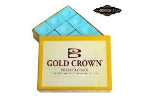 Бильярдный мел Gold Crown зеленый купить в интернет-магазине БильярдМастер Украина