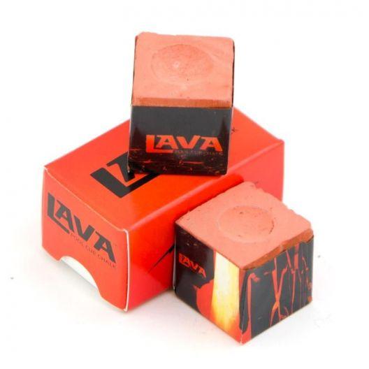 Бильярдный мел Lava красный купить в интернет-магазине БильярдМастер Украина
