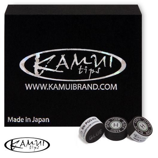 Наклейка для кия Kamui Black H 13 мм купить в интернет-магазине БильярдМастер Украина