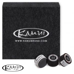Наклейка для кия Kamui Clear Black H 13 мм купить в интернет-магазине БильярдМастер Украина