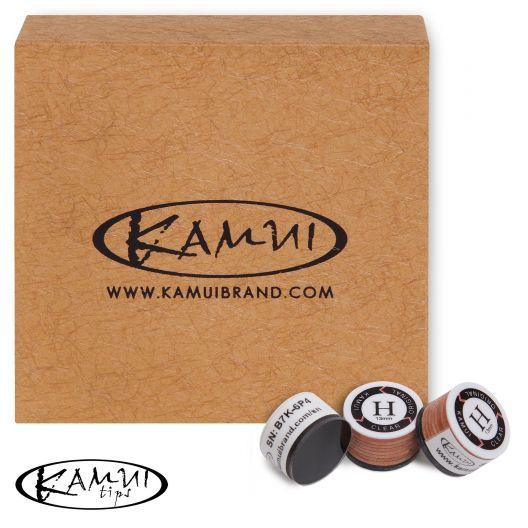 Наклейка для кия Kamui Clear Original H 13 мм купить в интернет-магазине БильярдМастер Украина