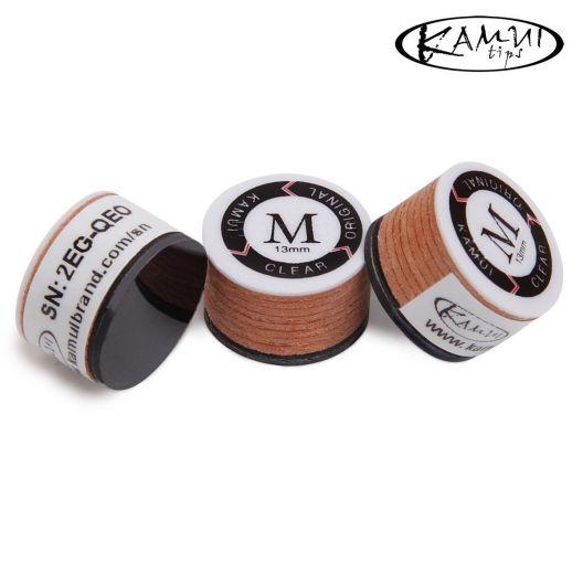 Наклейка для кия Kamui Clear Original M 13 мм купить в интернет-магазине БильярдМастер Украина