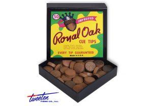 Бильярдные наклейки Royal Oak ø13 мм., 50 шт. купить в интернет-магазине БильярдМастер Украина