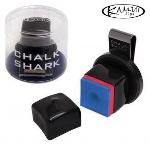 Магнитный держатель для мела Kamui Chalk Shark черный купить в интернет-магазине БильярдМастер Украина