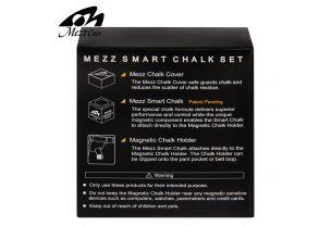 Набор Mezz Smart Chalk Set черный/белый купить в интернет-магазине БильярдМастер Украина