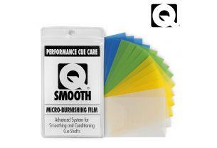 Набор микробумаги для полировки кия Q-Smooth 14 шт. купить в интернет-магазине БильярдМастер Украина