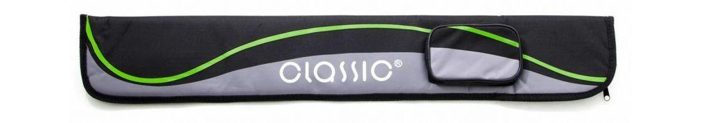 Чехол для кия Classic Passion черно-зеленый купить в интернет-магазине БильярдМастер Украина