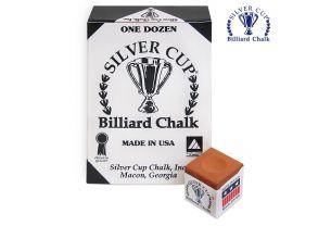 Бильярдный мел Silver Cup Copper купить в интернет-магазине БильярдМастер Украина
