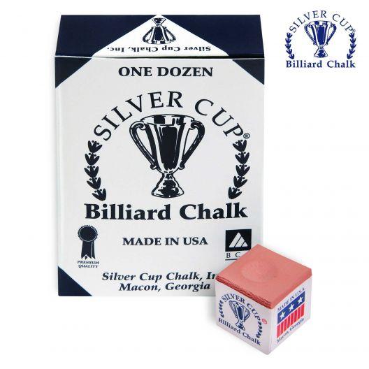 Бильярдный мел Silver Cup Corall купить в интернет-магазине БильярдМастер Украина