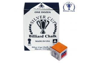 Бильярдный мел Silver Cup Orange купить в интернет-магазине БильярдМастер Украина