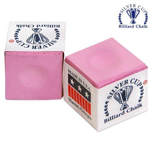 Бильярдный мел Silver Cup Pink купить в интернет-магазине БильярдМастер Украина
