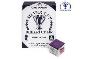 Бильярдный мел Silver Cup Plum купить в интернет-магазине БильярдМастер Украина
