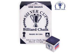 Бильярдный мел Silver Cup Purple купить в интернет-магазине БильярдМастер Украина