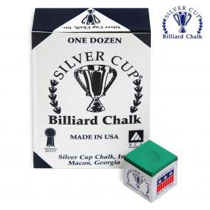 Бильярдный мел Silver Cup Tournament Green купить в интернет-магазине БильярдМастер Украина
