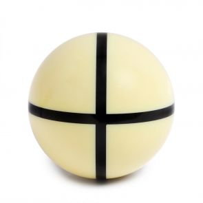 Тренировочный бильярдный шар Standard с крестом ø68 мм. купить в интернет-магазине БильярдМастер Украина