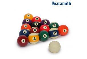 Шары для пула Aramith Standard Pool ø57,2 мм. купить в интернет-магазине БильярдМастер Украина