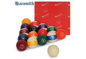 Шары для пула Aramith Continental Pool ø57,2 мм. купить в интернет-магазине БильярдМастер Украина