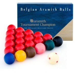 Шары для снукера Aramith Tournament Champion Pro Cup ø52,4 мм. купить в интернет-магазине БильярдМастер Украина