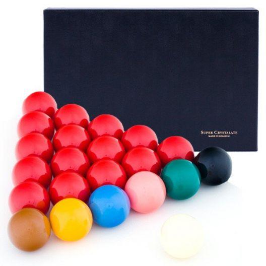 Шары для снукера Super Aramith Сhrystalate Snooker ø52,4 мм. купить в интернет-магазине БильярдМастер Украина