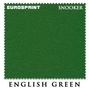 Сукно для бильярда Eurosprint Snooker English Green 190 см. купить в интернет-магазине БильярдМастер Украина