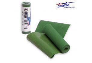 Лента для ремонта сукна Tweeten Green Mender 63 на 914 мм. купить в интернет-магазине БильярдМастер Украина