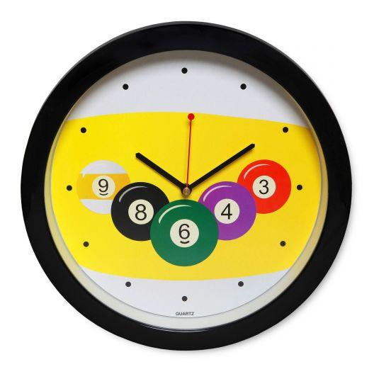 Часы для бильярда Pool Clock Ø29,5 см.