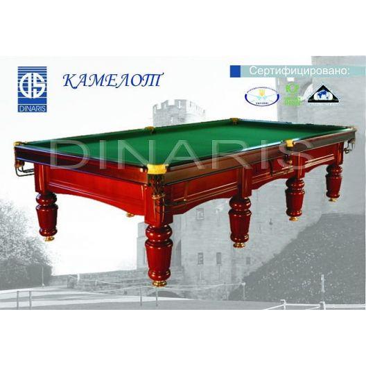 Бильярдный стол DINARIS Камелот 12ft.