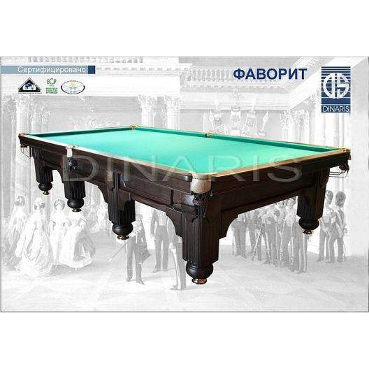Бильярдный стол DINARIS Фаворит 12ft.