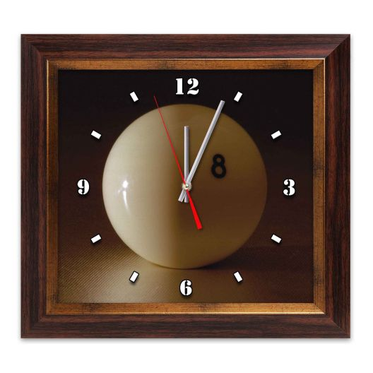 Часы для бильярда Pyramid Ball 38X41 см.