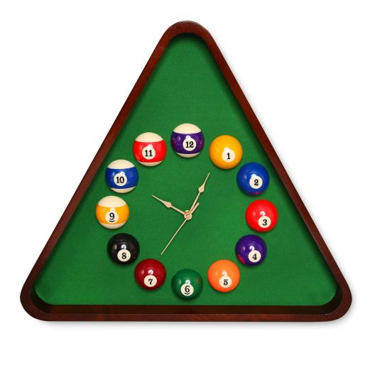 Часы для бильярда Triangle Pool Balls...