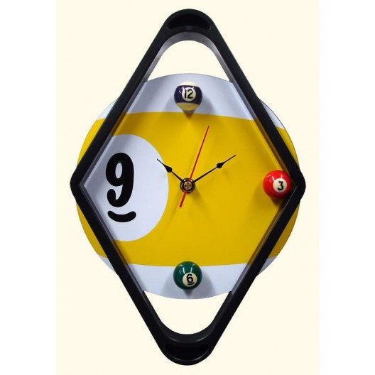 Часы для бильярда Diamond ø29см.