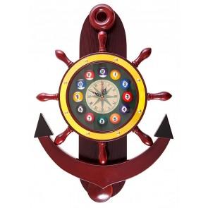 Часы для бильярда Якорь...