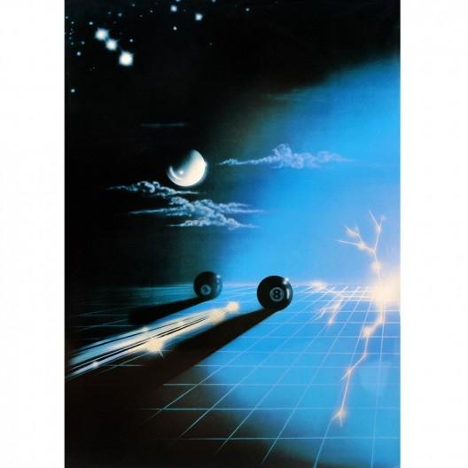 Постер для бильярда Billiard 2000,...