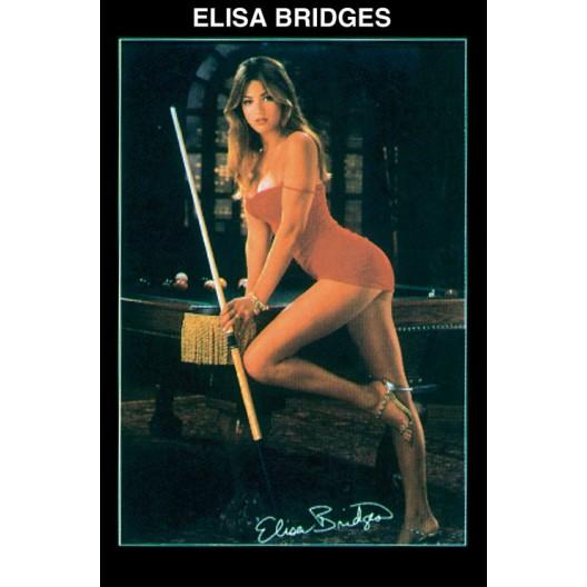 Постер для бильярда Elisa Bridges,...