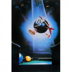 Постер для бильярда Flying...