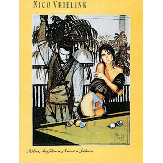 Постер для бильярда Nico Vrielink,...