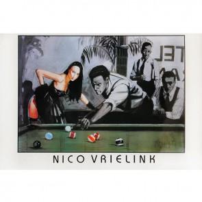 Постер для бильярда Nico...