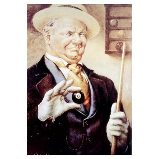 Постер для бильярда №8 Billiard...