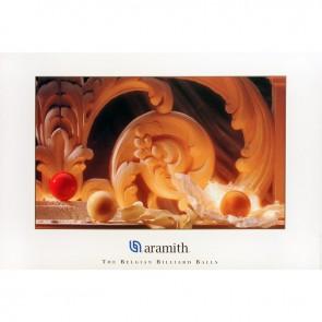Постер для бильярда Aramith...